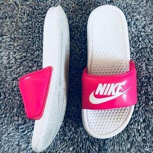 Nike Shoes   Nike Pink Slip Ons   Poshmark